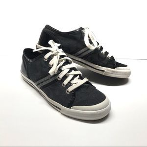 Coach Folly Signature Canvas Sneakers